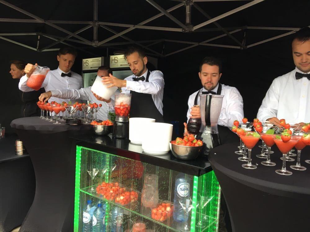 Cocktailbar en bartenders
